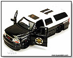 Jada Toys Heat - 2002 GMC Yukon Denali State Trooper - 1:24 scale die-cast collectible model car by TOY WONDERS INC.