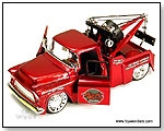 Jada Toys Bigtime Kustoms - 1955 Chevy Stepside Tow Truck - 1:24 scale die-cast collectible model car by TOY WONDERS INC.