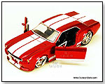 Jada Toys Big Time Muscle - 1965 Ford Mustang Hard Top - 1:24 scale die-cast collectible model car by TOY WONDERS INC.