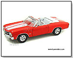 Welly - 1971 Chevrolet Chevelle SS454 Hard Top - 1:24 scale die-cast collectible model car by TOY WONDERS INC.