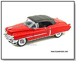Welly - 1953 Cadillac Eldorado Soft Top - 1:24 scale die-cast collectible model car by TOY WONDERS INC.