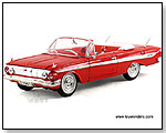 SIGNATURE MODELS - 1961 Chevrolet Impala Convertible. 1:32 scale diecast collectible model car by TOY WONDERS INC.