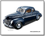 Maisto Special Edition - 1939 Ford Deluxe Hard Top. 1:18 scale diecast collectible model car by TOY WONDERS INC.