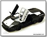 Jada Toys Heat - Lamborghini Murcielago LP640 Police 1:24 scale die-cast collectible model car by TOY WONDERS INC.