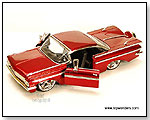 Jada Toys Bigtime Kustoms - 1959 Chevy Impala Hard Top. 1:24 scale diecast collectible model car by TOY WONDERS INC.