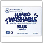 Jumbo Washable Stamp Pads by CENTER ENTERPRISES