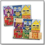 Melissa & Doug Deluxe Latches Board by MELISSA & DOUG
