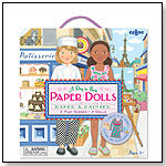 "Paper Dolls - Baker & Painter "" A Day in Paris"" by eeBoo corp."