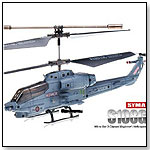 SYMA S108G 3.5 CH Infrared Mini Radio Controlled Marine Cobra Helicopter Gyro by TOY WONDERS INC.