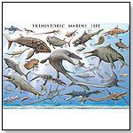 Laminated Poster Prehistoric Life by SAFARI LTD.®