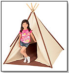 Authentic Cotton Canvas Tee Pee by PACIFIC PLAY TENTS INC