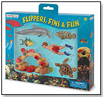 Wild Safari® Sealife Flippers, Fins & Fun Set by SAFARI LTD.®
