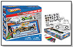 "Hot Wheels ""Full Throttle"" Light Box Design Set by FASHION ANGELS"