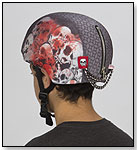 Screaming Skulls Helmet Cover by CRAZEEHEADS INC