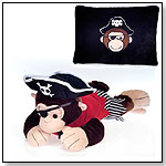 "18"" Pirate Monkey Peek-A-Boo Plush by FIESTA"