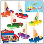 Wooden Sail Boats by TOYSMITH