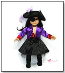 Jezebel 7 pc Pirate Outfit by DREAM BIG WHOLESALE DOLL CLOTHES LLC