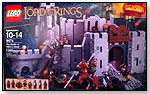 The Battle of Helm's Deep by LEGO