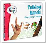 Brainy Baby Board Book - Talking Hands by BRAINY BABY