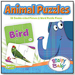 Animal Puzzles by BRAINY BABY