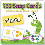 123s Snap Cards Game by BRAINY BABY