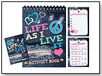 Life As I Live It, Love to Be Me, and BFF Book of Lists by ISCREAM