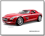 Maisto Premiere - Mercedes-Benz SLS AMG 1:18 scale die-cast collectible model car by TOY WONDERS INC.