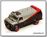 "Mattel Hot Wheels Elite 20th Century Fox - GMC ""The A-Team Van""1:43 Scale die-cast collectible metal car by TOY WONDERS INC."