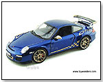 Norev - 2010 Porsche 911 GT3 RS Hard Top 1:18 scale die-cast collectible model by TOY WONDERS INC.