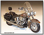 Die-Cast Promotions - 2011 Harley-Davidson FLSTC Heritage Softail Classic Motorcycle 1:12 scale die-cast collectible model</title><style>.adr8{positio by TOY WONDERS INC.