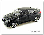 BBurago Diamond - BMW X6 M Hard Top 1:18 scale die-cast collectible model car by TOY WONDERS INC.
