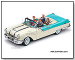 Sun Star Platinum - 1955 Pontiac Star Chief Convertible - I Love Lucy 60th Anniversary 1:18 scale die-cast collectible model car</title><style>.adr8{p by TOY WONDERS INC.