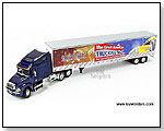 Die-cast-Promotions - Frieghtliner Columbia Tractor Trailer - The Great American Trucking Show 1:64 scale die-cast collectible model car</title><style by TOY WONDERS INC.