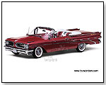 Sun Star Platinum - 1959 Pontiac Bonneville Convertible 1:18 scale die-cast collectible model car by TOY WONDERS INC.