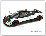 Mondo Motors - Pagani Zonda Hard Top 1:18 scale die-cast collectible model car by TOY WONDERS INC.