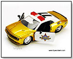 Jada Toys Heat - 2008 Dodge Challenger SRT8 Police #77 1:24 scale die-cast collectible model car by TOY WONDERS INC.