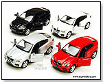 Kinsmart - BMW X6 Hard Top 1:38 scale die-cast collectible model car by TOY WONDERS INC.
