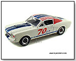 Shelby - 1966 Shelby GT 350R Hard Top #70 1:18 scale die-cast collectible model car by TOY WONDERS INC.