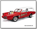 Auto World - Monkee Mobile 1:18 scale die-cast collectible model car by TOY WONDERS INC.