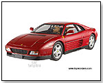 Mattel Hot Wheels Elite - Ferrari 348 TB Hard Top 1:18 scale die-cast collectible model car by TOY WONDERS INC.
