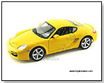 Welly - Porsche Cayman S Hard Top 1:18 scale die-cast collectible model car by TOY WONDERS INC.