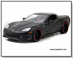 Jada Toys Collector's Club - 2009 Chevy Corvette ZR1 1:18 Scale die-cast collectible model car - Black by TOY WONDERS INC.