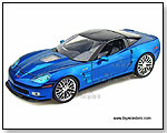 Jada Toys Collector's Club - 2009 Chevy Corvette ZR1 1:18 Scale die-cast collectible model car - Blue by TOY WONDERS INC.