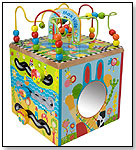 Maxville Wooden Activity Cube by ALEX BRANDS