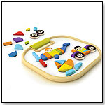 Bamboo Collection Magnetic Vehicles by HAPE