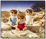 Calico Critters - Spotter Meerkat Triplets by INTERNATIONAL PLAYTHINGS LLC