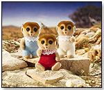 Calico Critters - Spotter Meerkat Triplets by INTERNATIONAL PLAYTHINGS LLC
