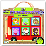 Green Start Chunky Wooden Puzzles: Silly Squares by INNOVATIVEKIDS