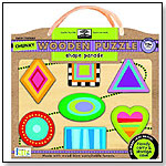 Green Start Chunky Wooden Puzzles: Shape Parade by INNOVATIVEKIDS