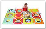 Playspot Foam Floor Tiles - Zoo Multi by SKIP HOP INC.